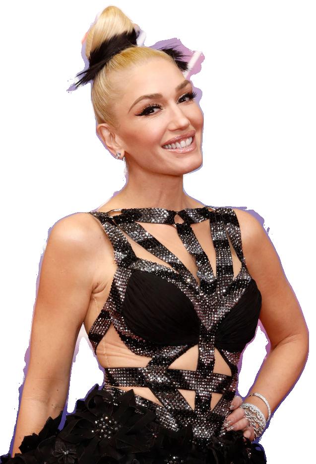 Gwen Stefani transparent background png image