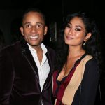 Hill Harper with ex-girlfriend Chloe Flower