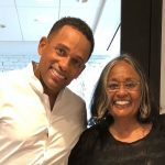 Hill Harper with his mother Marilyn Hill Harper