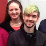 JackSepticeye with his sister Allison McLoughlin
