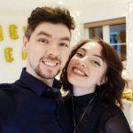Jacksepticeye with ex-girlfriend Signe Hansen