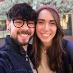 Jacksepticeye with girlfriend Gab Smolders