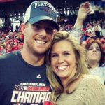 Jay Bruce with his wife Hannah Eastham