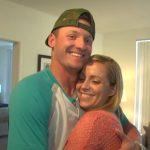 Josh Donaldson with his ex-girlfriend Jillian Rose