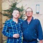 Josh Donaldson with his father Levon Donaldson
