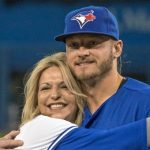 Josh Donaldson with his mother Lisa French