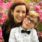 Julian Hilliard with his mother Arianne Martin