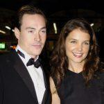 Katie Holmes with ex-boyfriend Chris Klein