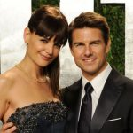 Katie Holmes with her ex-husband Tom Cruise