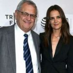 Katie Holmes with her father Martin Joseph Holmes Sr