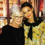 Katie Holmes with her mother Kathleen Holmes
