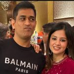 MS Dhoni With hs Girlfriend Sakshi Dhoni
