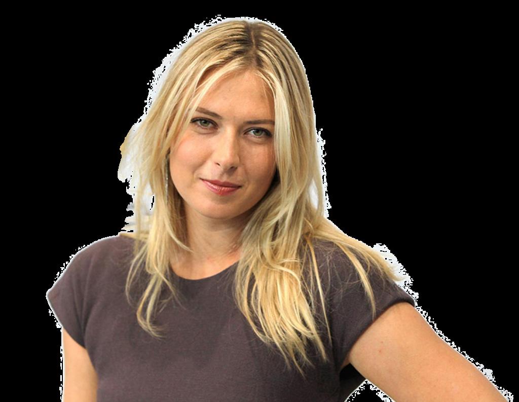 Maria Sharapova transparent background png image