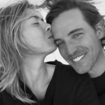 Maria Sharapova with her boyfriend and fiance Alexander Gilkes