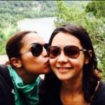 Monica Raymund with her ex-girlfriend Tari Segal