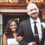 Monica Raymund with her ex-husband Neil Patrick Stewart