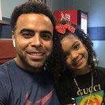 Nelson Cruz with his daughter Giada Cruz