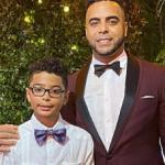 Nelson Cruz with his son Nelson Cruz Jr.Nelson Cruz with his son Nelson Cruz Jr.