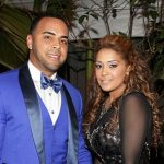 Nelson Cruz with his wife Solani Genao