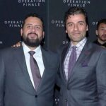 Oscar Isaac with his brother Mike Hernandez