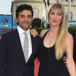 Oscar Isaac with wife Elvira Lind