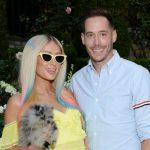Paris Hilton her with fiance Carter Reum