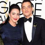 Rami Malek with his sister Yasmine