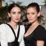 Rooney Mara with her sister Kate Mara