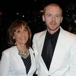 Simon Pegg with his mother Gillian Rosemary