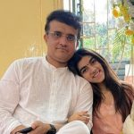 Sourav Ganguly with his daughter Sana Ganguly