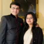 Sourav Ganguly with his wife Dona Ganguly