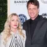 Tony Hawk with wife Catherine Goodman