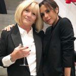 Victoria Beckham with her mother Jacqueline Doreen