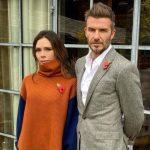 Victoria Beckham with husband David Beckham