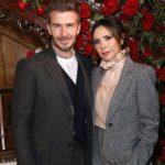 Victoria Beckham with husband David Beckham image
