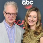 Zoe Perry with his father Jeff Perry