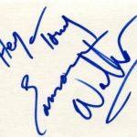 eamonn walker signature