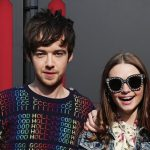Alex Lawther with his ex-girlfriend Jessica Barden
