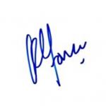 Alfonso Cuaron signature