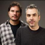 Alfonso Cuaron with his brother Carlos Cuarón