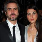 Alfonso Cuaron with his ex-wife Annalisa Bugliani