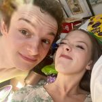 Amybeth McNulty with her boyfriend Louis Hynes