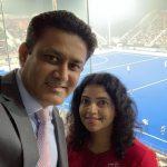 Anil Kumble girlfriend Chethana Ramatheertha