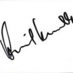 Anil Kumble signature