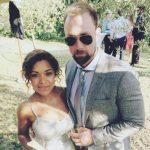 Antonia Thomas with ex-boyfriend Michael Shelford