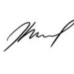 Bad Bunny signature