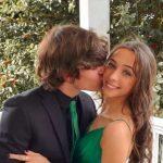 Brandon Spink with his girlfriend Ella Sousa