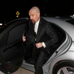 Bryan Cranston with his car