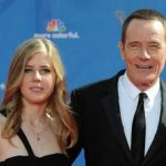 Bryan Cranston with his daughter Taylor Dearden