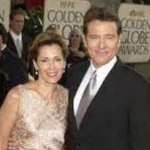 Bryan Cranston with his ex-wife Mickey Middleton